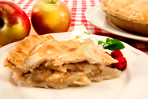 Mrs Claus home made Apple Pie