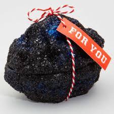 A lump of coal from Santa