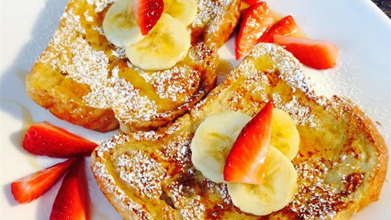 Breakfast for Mrs. Claus some Fluffy French Toast