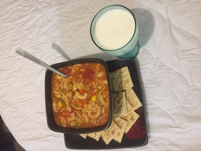 Santa's and Mrs Claus Favorite Lunch Time Soup